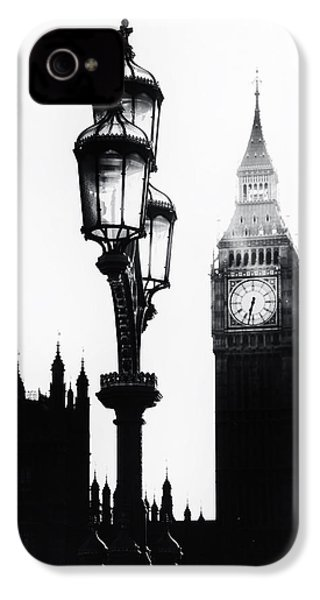 Westminster - London IPhone 4 Case by Joana Kruse