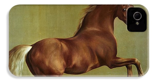 Whistlejacket IPhone 4 / 4s Case by George Stubbs