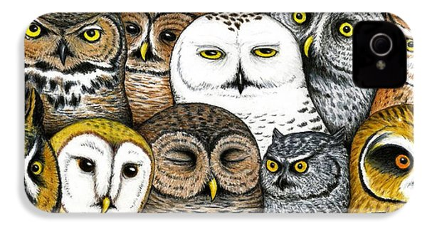 Who's Hoo IPhone 4 Case by Don McMahon