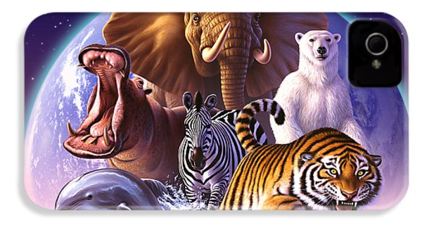 Wild World IPhone 4 / 4s Case by Jerry LoFaro