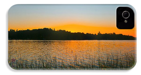 Wilderness Point Sunset Panorama IPhone 4 Case by Gary Eason