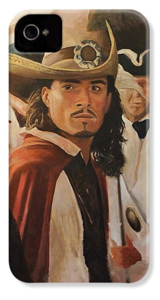 Will Turner IPhone 4 / 4s Case by Caleb Thomas