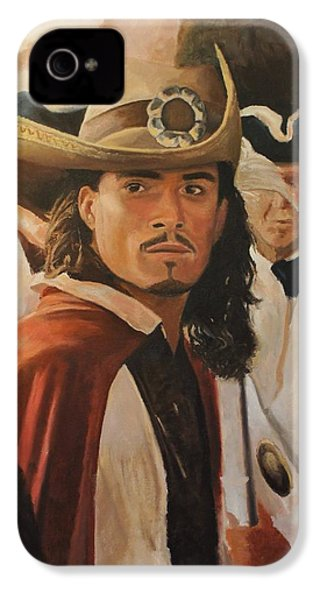 Will Turner IPhone 4 Case by Caleb Thomas