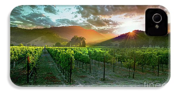 Wine Country IPhone 4 Case