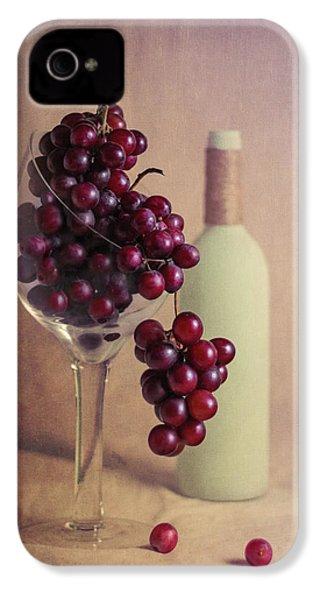 Wine On The Vine IPhone 4 Case by Tom Mc Nemar