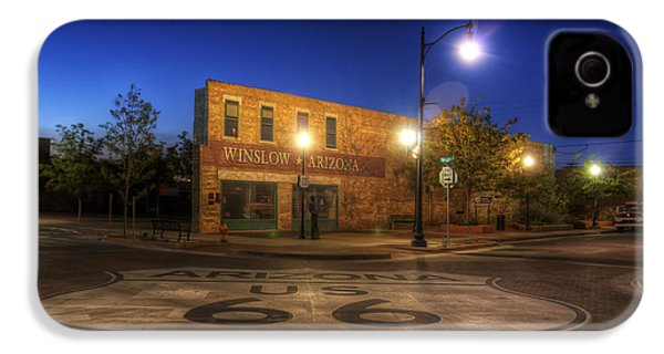 Winslow Corner IPhone 4 / 4s Case by Wayne Stadler