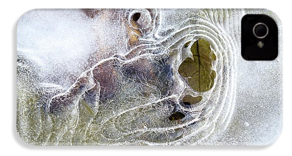 IPhone 4 Case featuring the photograph Winter Ice by Christina Rollo