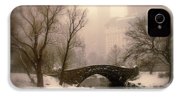 Winter Nostalgia IPhone 4 Case by Jessica Jenney