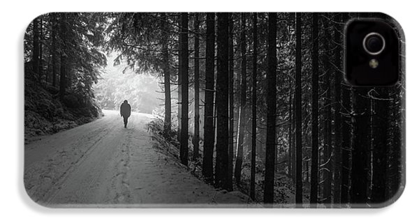 Winter Walk - Austria IPhone 4 / 4s Case by Mountain Dreams