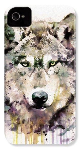 Wolf Head IPhone 4 Case