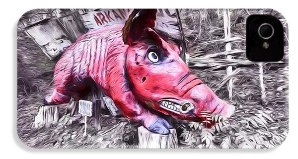 Woo Pig Sooie Digital IPhone 4 Case by JC Findley