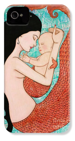 Wrapped In Love IPhone 4 / 4s Case by Natalie Briney