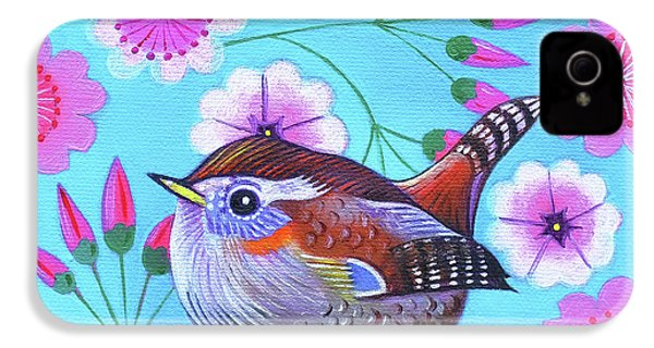 Wren IPhone 4 Case by Jane Tattersfield