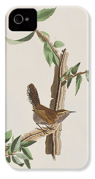 Wren IPhone 4 Case by John James Audubon