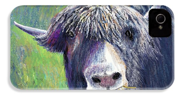 Yakity Yak IPhone 4 Case by Arline Wagner