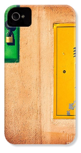 IPhone 4 Case featuring the photograph Yellow And Green by Silvia Ganora