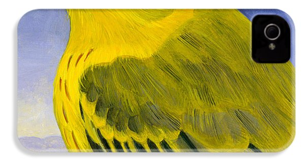 Yellow Warbler IPhone 4 Case