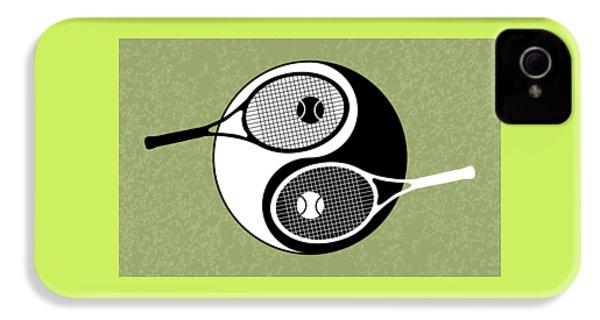 Yin Yang Tennis IPhone 4 Case by Carlos Vieira