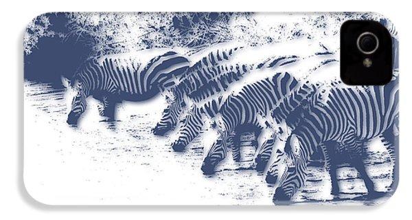 Zebra 3 IPhone 4 / 4s Case by Joe Hamilton