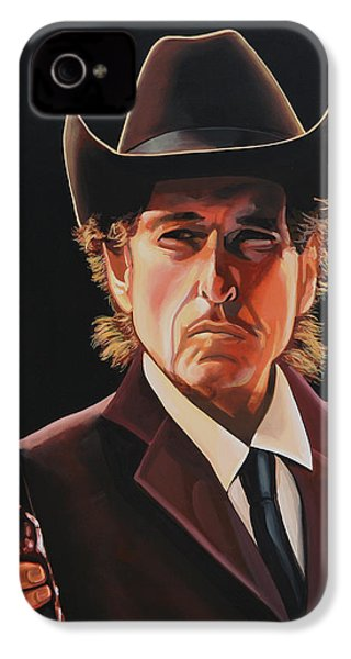 Bob Dylan 2 IPhone 4s Case by Paul Meijering