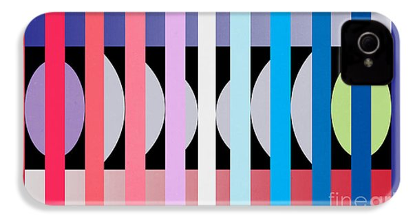 Fun Geometric  IPhone 4s Case by Mark Ashkenazi