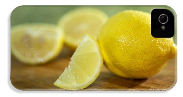 Lemon Citrus Limon Zitronen IPhone 4s Case