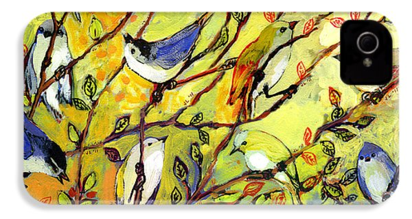 16 Birds IPhone 4s Case by Jennifer Lommers