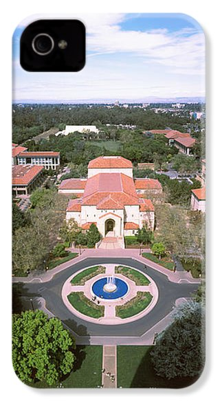 Aerial View Of Stanford University IPhone 4s Case by Panoramic Images