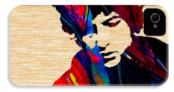 Bob Dylan Collection IPhone 4s Case by Marvin Blaine