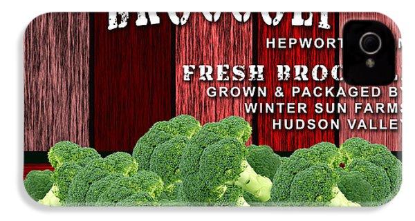 Broccoli Farm IPhone 4s Case by Marvin Blaine