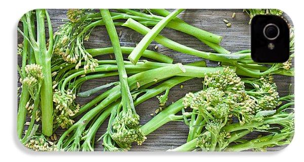 Broccoli Stems IPhone 4s Case by Tom Gowanlock