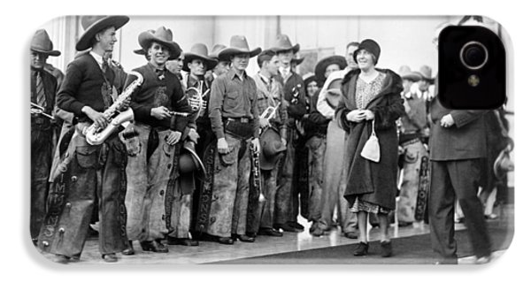 Cowboy Band, 1929 IPhone 4s Case by Granger