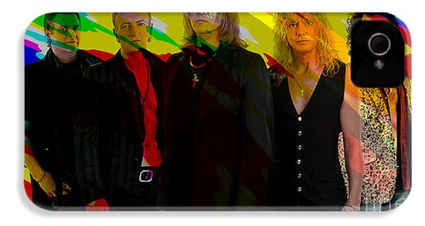 Def Leppard IPhone 4s Case by Marvin Blaine