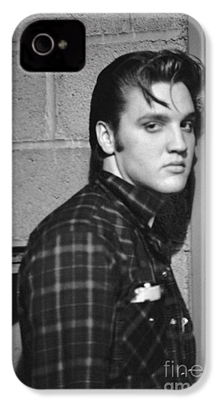 Elvis Presley 1956 IPhone 4s Case by The Harrington Collection
