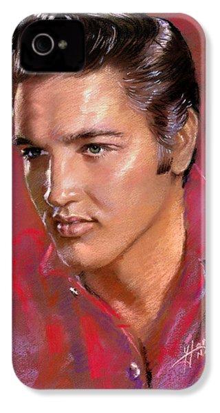 Elvis Presley IPhone 4s Case by Viola El