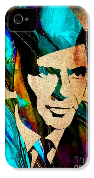 Frank Sinatra Paintings IPhone 4s Case by Marvin Blaine