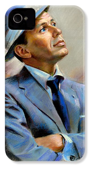 Frank Sinatra  IPhone 4s Case by Ylli Haruni