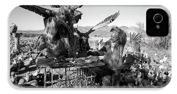 Griffon Vulture Conservation IPhone 4s Case by Nicolas Reusens