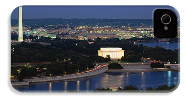 High Angle View Of A City, Washington IPhone 4s Case by Panoramic Images