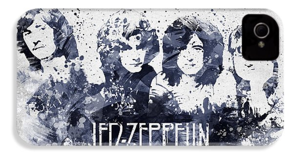 Led Zeppelin Portrait IPhone 4s Case by Aged Pixel
