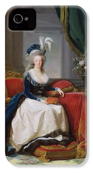 Marie Antoinette IPhone 4s Case by Elisabeth Louise Vigee-Lebrun