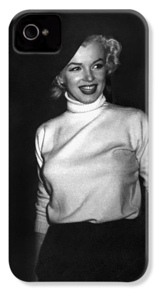 Marilyn Monroe In Korea IPhone 4s Case