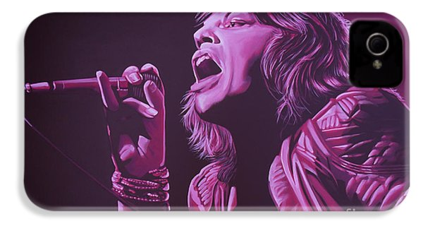 Mick Jagger 2 IPhone 4s Case by Paul Meijering
