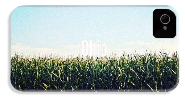 Ohio IPhone 4s Case by Natasha Marco