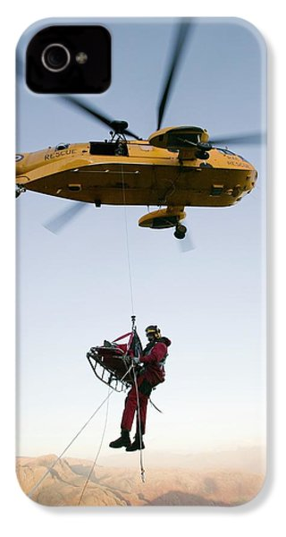 Raf Sea King Helicopter IPhone 4s Case by Ashley Cooper