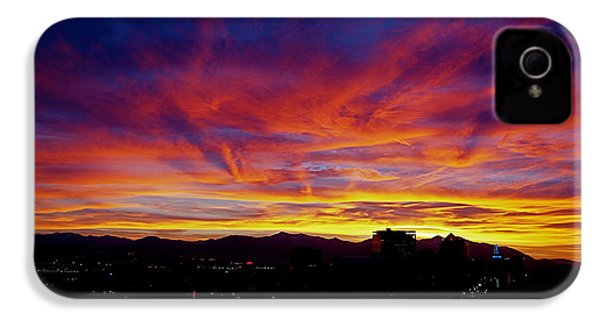 Salt Lake City Sunset IPhone 4s Case