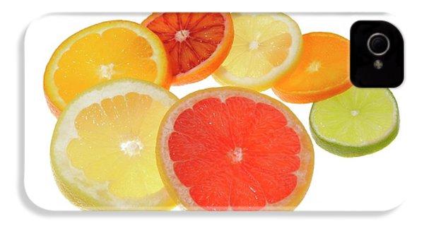 Slices Of Citrus Fruit IPhone 4s Case by Cordelia Molloy