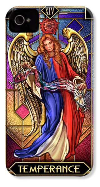 IPhone 4s Case featuring the drawing Temperance by Ciro Marchetti