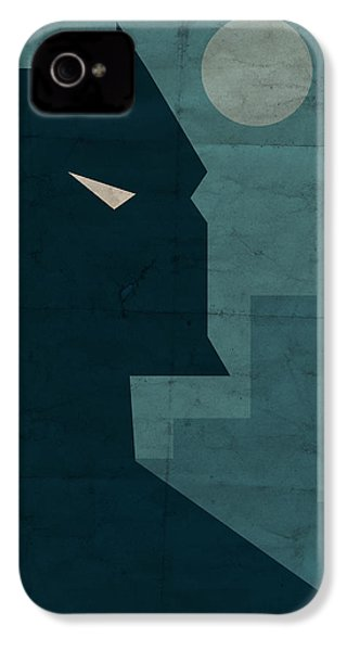 The Dark Knight IPhone 4s Case by Michael Myers
