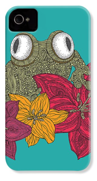 The Frog IPhone 4s Case by Valentina Ramos